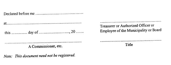 subcontractor statutory declaration form tax
